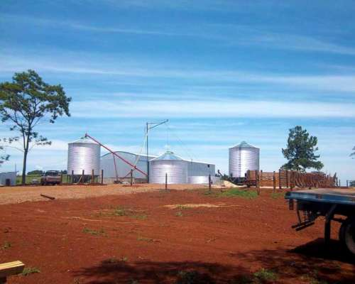 Silos Aereos ,galpones, Tinglado, Carros ,silos Comederos
