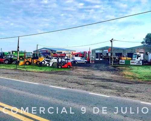 Cabezal Girasolero Maizco Grandflow - 9 de Julio