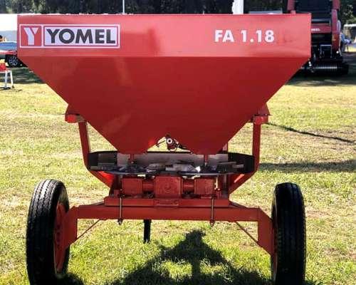 Fertilizadora Yomel FA 1.18 Bidisco