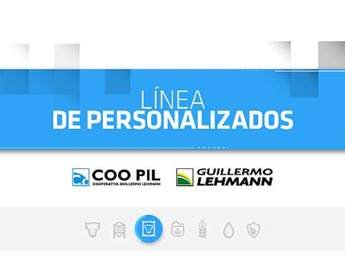 Personalizados - Línea Coo Pil