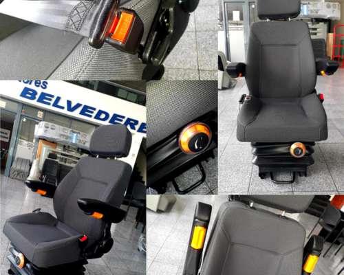Asiento Butaca Tractor Operador Universal 0km Suspension