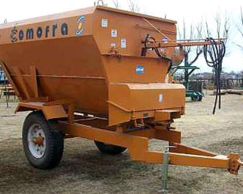 Mixer Horizontal Comofra SF 3000 6 M3 Disponible 12 Cuotas