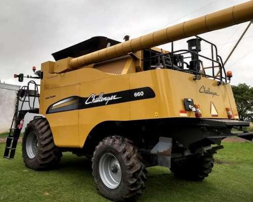Cosechadora Challenger 660