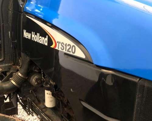New Holland TS120 año 2003 DT 120hp ENG.3 Puntos con 9000 Hs