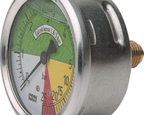 Manometros para Pulverizadoras Isometricos y Comunes