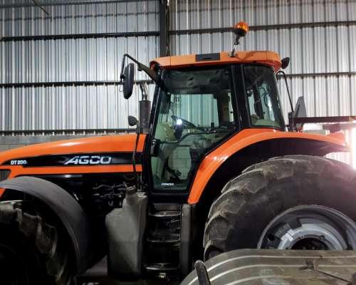 Tractor Agcoallis DT200 Modelo 2007