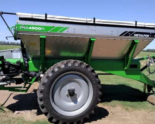 Fertilizadora de Arrastres FSA 4500 -balanza y Cont, Fertili