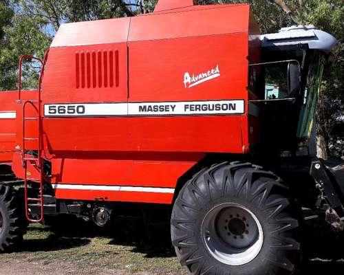 Cosechadora Massey Fergusson 5650 2006 4wd Gomas Nuevas