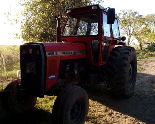 Tractor Usado Marca Massey Ferguson Modelo 1195s