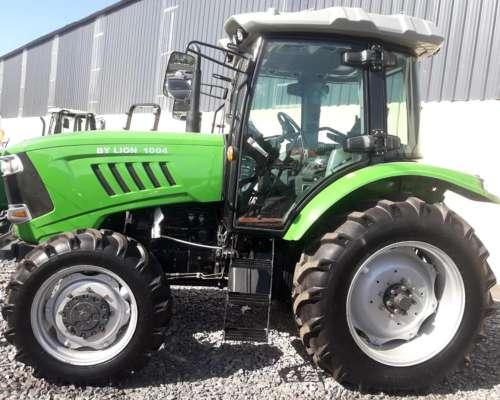 Tractor Chery 100 HP 4X4 con 3 Puntos y Cabina