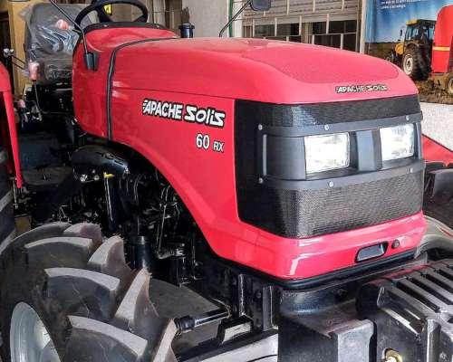 Tractor Apache Solis RX 60 Doble Traccion