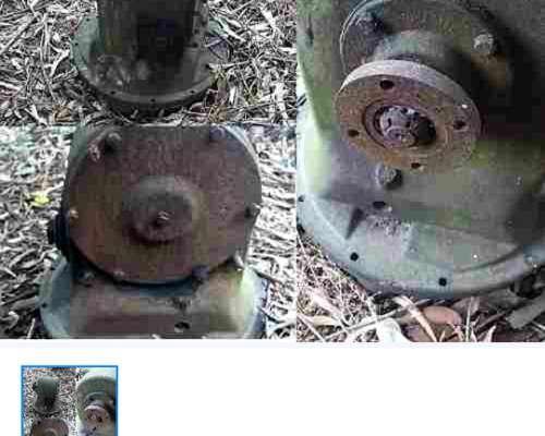 Codos de 6 Pulgadas Bauer y Nicolussi, Cabezal Bomba de 4