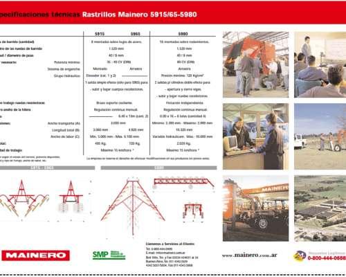 Rastrillo Mainero 5965 Entrega Central, Nuevos y Usados