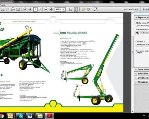 Acoplado Tolva Semillas y Fertilizantes 14tt. Soja -16 Trigo