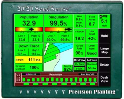 Precision Planting - Dosificador + Tubo de Bajada y Wave VIS