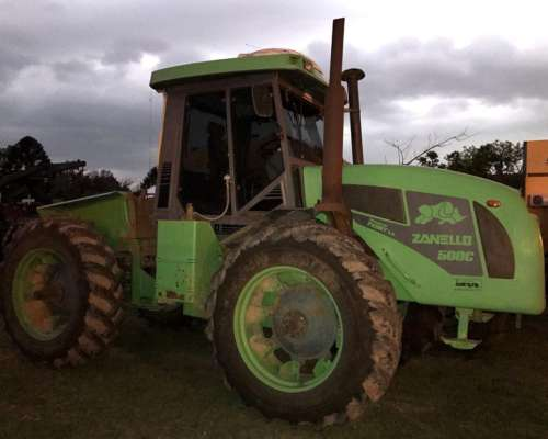Tractor Zanello 500c Pauny Articulado