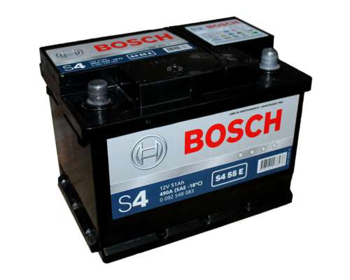 Bateria S4 55e 12x55 Izquierda Bosch Nafta Diesel Gnc