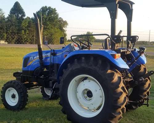 Tractor New Holland Tt 4.75 2wd Unicos En El Pais