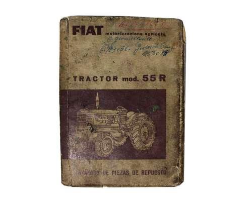 Catálogo de Repuestos para Tractor Fiat 55-r