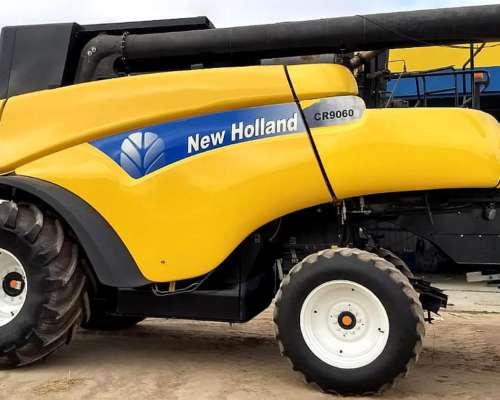 Cosechadora New Holland Cr9060, año 2008