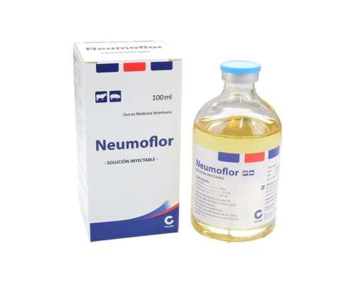 Antibiótico y Antiflamatorio Neumoflor X 100 CC
