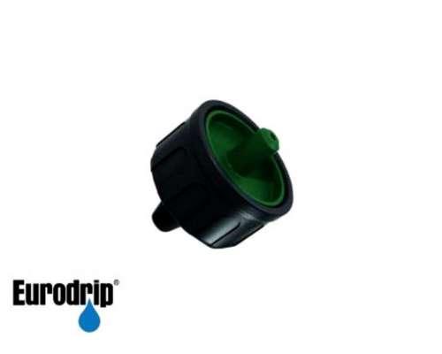 Gotero Autocompensado Regulable 0-24lt/h. Eurodrip