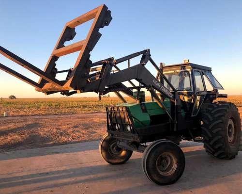 Tractor Deutz AX120 con Pala y Pinche. Excelente Estado