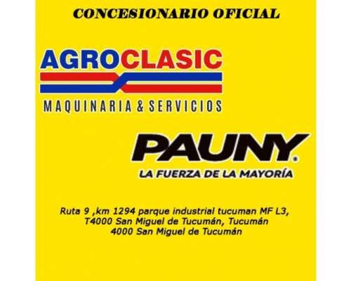 Tractor Pauny 180 -agroclasic