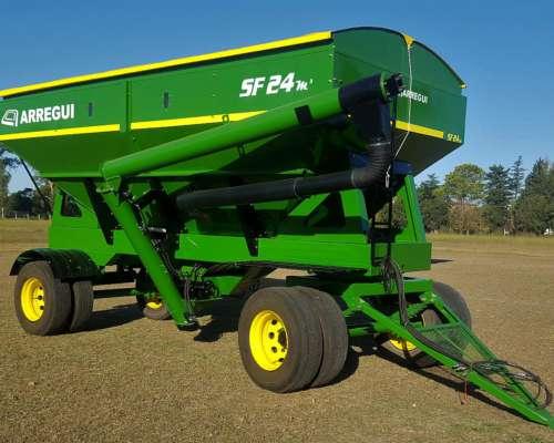 Tolva para Semilla Fertilizante 24 M3 (100% Abulonada)