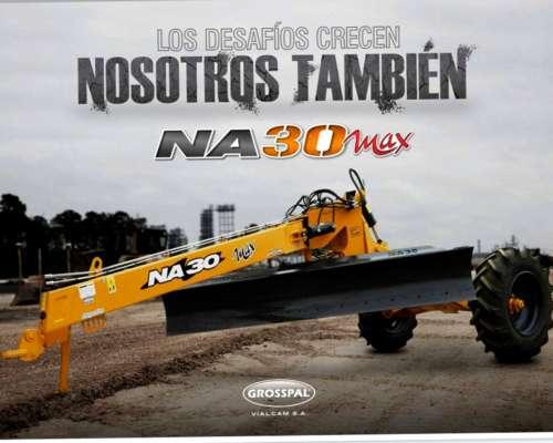 Niveladora Articulada de Arrastre NA 30 MAX