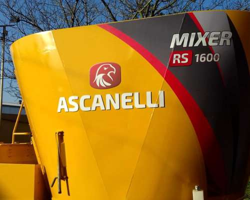 Mixer Vertical Ascanelli 15 M3 Reacondicionado