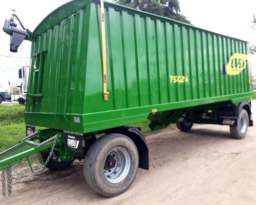Tolvas Semillas y Fertilizantes Ombu 24 M3-disponible