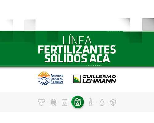 Fertilizantes Sólidos - Línea ACA