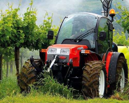 Goldoni Tractores Viñateros, y Horticolas de 20 HP a 100 HP