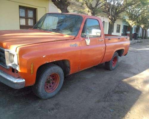 Chevrolet C / 10 Modelo 1978/ Acepto Camion Pago Diferencia