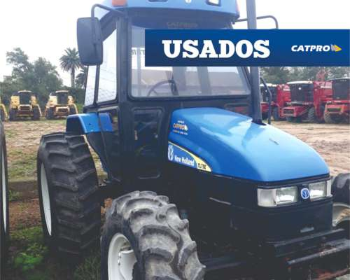 Tractor New Holland TL75 Modelo 2004