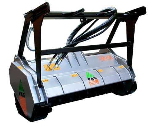 Cabezal para Mini-cargadora - Triturador Forestal