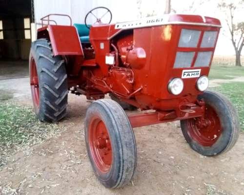 Tractor Fahr 66 Totalmente Reparado