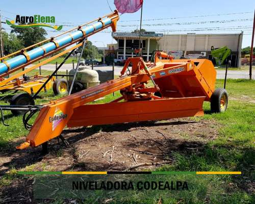 Niveladora Codealpa Nueva 3080mm