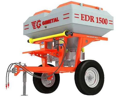 Fertilizadora Bidisco Gimetal EDR1500