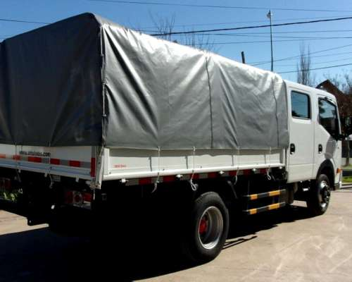 Dfm T01 D/cab, Nissan 140hp, P/4 Ton.+ 6 Pasajeros 0km MY19