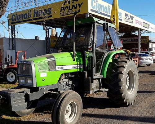Tractor Agco Allis 6.125 REF Agua 1800 Hs Vende Cignoli Hnos