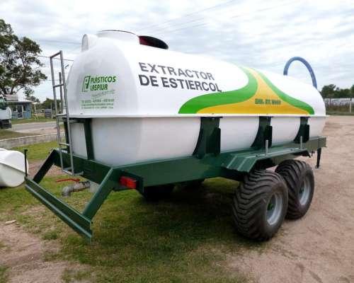 Estercolera 10.000 Litros - Balancin - Plasticos Laspiur SRL