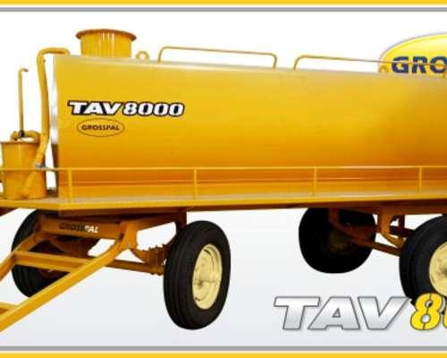 Acoplado Tanque Atmosférico Tav8000-6000. Grosspal Nuevo