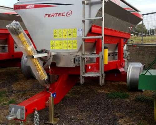 Fertilizadora Fertec Modelo Fertil 4500