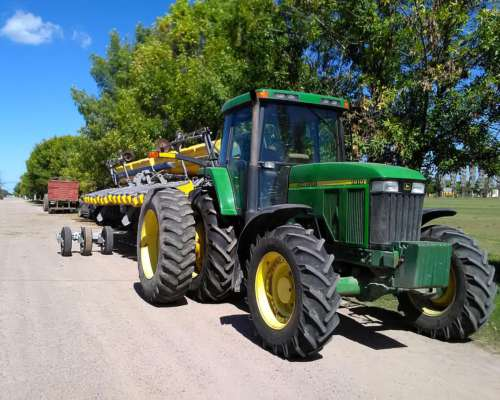 Tractor 7810/ 9000 Hs.con Sembradora Pla 16-52 Canje