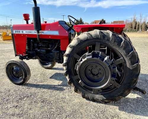 Tractor Massey Ferguson 265 S con Tres Puntos