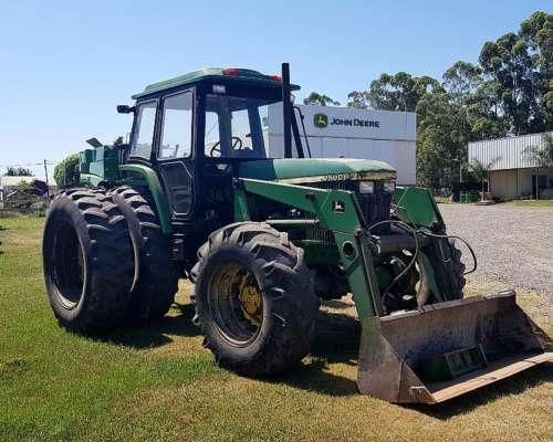 Tractor John Deere 7500 con Pala John Deere