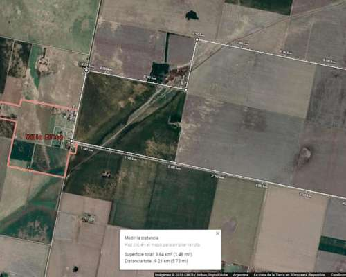 Vendo Campo Agricola Zona Leones