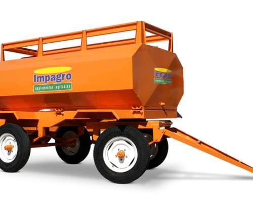 Acoplado Tanque De Combustibles 3000 Lts Impagro